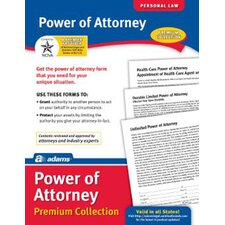 Power of Attorney Forms and Instructions Pack (Set of 6)