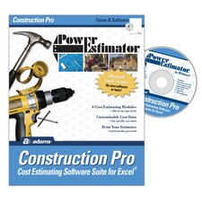 Power Estimator Construction Pro Estimating Software Compact Disc (Set of 2)