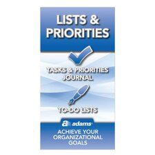"6.25"" x 3.25"" Lists and Priorities Journal (Set of 48)"