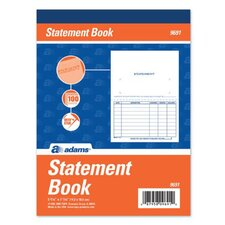 1 Part Statement Book (Set of 25)