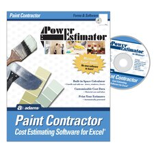 Power Estimator Paint Estimating Software Compact Disc (Set of 2)