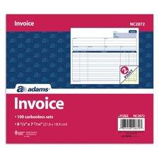 2 Part Carbonless Invoice Unit (Set of 600)