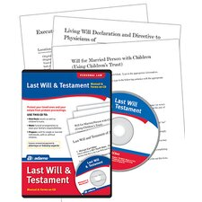 Prepare A Last Will and Testament Compact Disc (Set of 8)