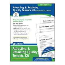 Attracting and Retaining Quality Tenants Forms and Instruction (Set of 96)