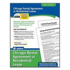Residential Lease Chicago Forms and Instruction (Set of 288)