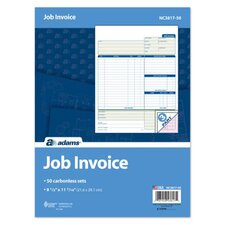 3 Part Carbonless Job Invoice Unit (Set of 300)