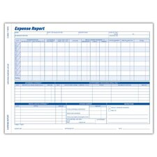 2 Part Carbonless Weekly Expense Report (Set of 600)