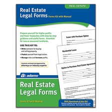 Real Estate Legal Forms and Instructions Kit (Set of 96)