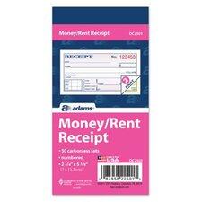 Carbonless Money/Rent Receipt (Set of 36)