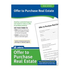 Offer To Purchase Real Estate Forms and Instruction (Set of 288)