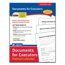 Documents for Executors Premium Collection Forms and Instruction (Set of 6)