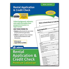 Rental/Credit Application Forms and Instructions Pack (Set of 288)