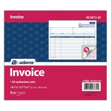 2 Part Carbonless Invoice Unit (Set of 400)