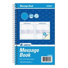 2 Part Carbonless Spiral Bound Phone Message Book (Set of 15)