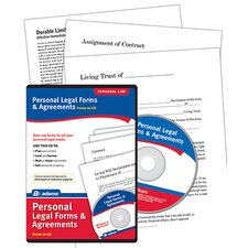 Personal Legal Forms and Agreements Compact Disc (Set of 6)