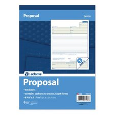 Carbon Proposal Book (Set of 12)
