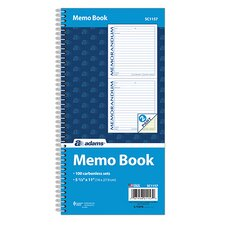 2 Part Spiral Memo Book (Set of 25)