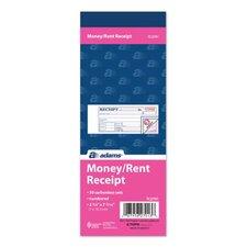 3 Part Money/Rent Receipt Book (Set of 24)