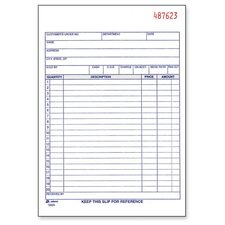 "Sales Order Book, 3-Part, 2-Part, 5-9/16""x8-7/16"""