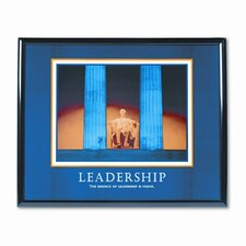 Leadership Motivational Print Frame