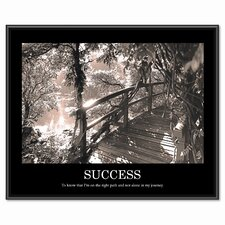 Success Framed Photographic Print