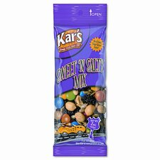 Kar'S Nuts Caddy, Sweet 'N Salty Mix, 2 Oz Packets, 24 Packets/Caddy