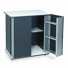 Vertiflex Refreshment Stand, 2-Shelf, 29-1/2W X 21D X 33-1/2H