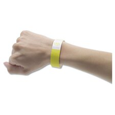 Crowd Management Wristbands, Sequentially Numbered, 500/Pack