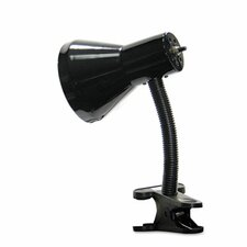 """Ledu Clip-On Gooseneck 9"""" H Table Lamp with Empire Shade"""
