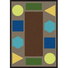 Sitting Shapes© Kids Rug