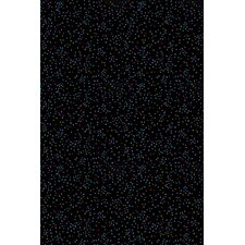 Fluorescent Starry Night Novelty Rug