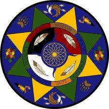 Educational Essentials Spirit of Truth Circle Area Rug