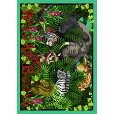 Educational Essentials Wild About Books Kids Rug