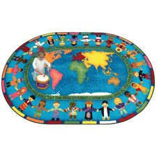 Faith Based Let the Children Come Kids Rug