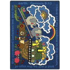 Faith Based Rainbow's Promise Kids Rug