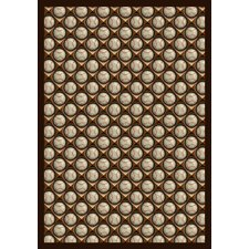 Sports Bases Loaded Leather Glove Novelty Rug