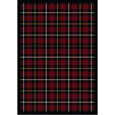 <strong>Joy Carpets</strong> Whimsy Bit O' Scotch Lumberjack Red Rug