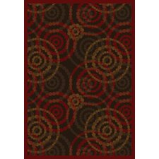 JC3163Whimsy Dottie Warm Earth Rug