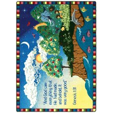 Faith Based Creation Kids Rug