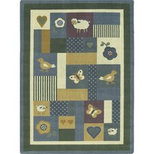 Just for Kids Baby Love Soft Kids Rug