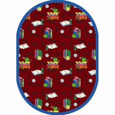<strong>Joy Carpets</strong> Just for Kids Bookworm Kids Rug