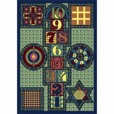 Just for Kids Joy Games Multi Kids Rug