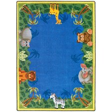 Just for Kids Jungle Friends Rug