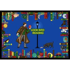 <strong>Joy Carpets</strong> Educational Look Into Reading Kids Rug
