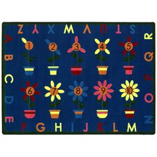 <strong>Joy Carpets</strong> Educational Petal Pushers Kids Rug