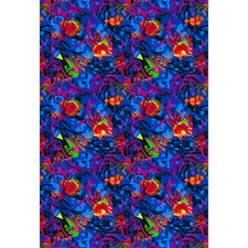 Fluorescent Under the Sea Kids Rug
