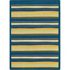 Just for Kids Yipes Stripes Bold Area Rug
