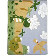 Just For Kids Dino Fun Kids Rug