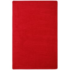 Endurance Red Area Rug