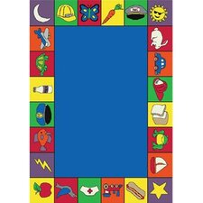 <strong>Joy Carpets</strong> Educational Jump Start Kids Rug